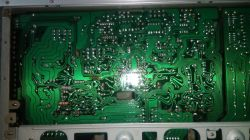 Amplituner Yamaha R700 - spalone rezystory