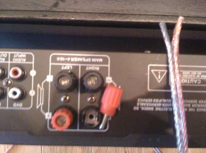 DIXON c66 - wzmacniacz i podłączenie głośników