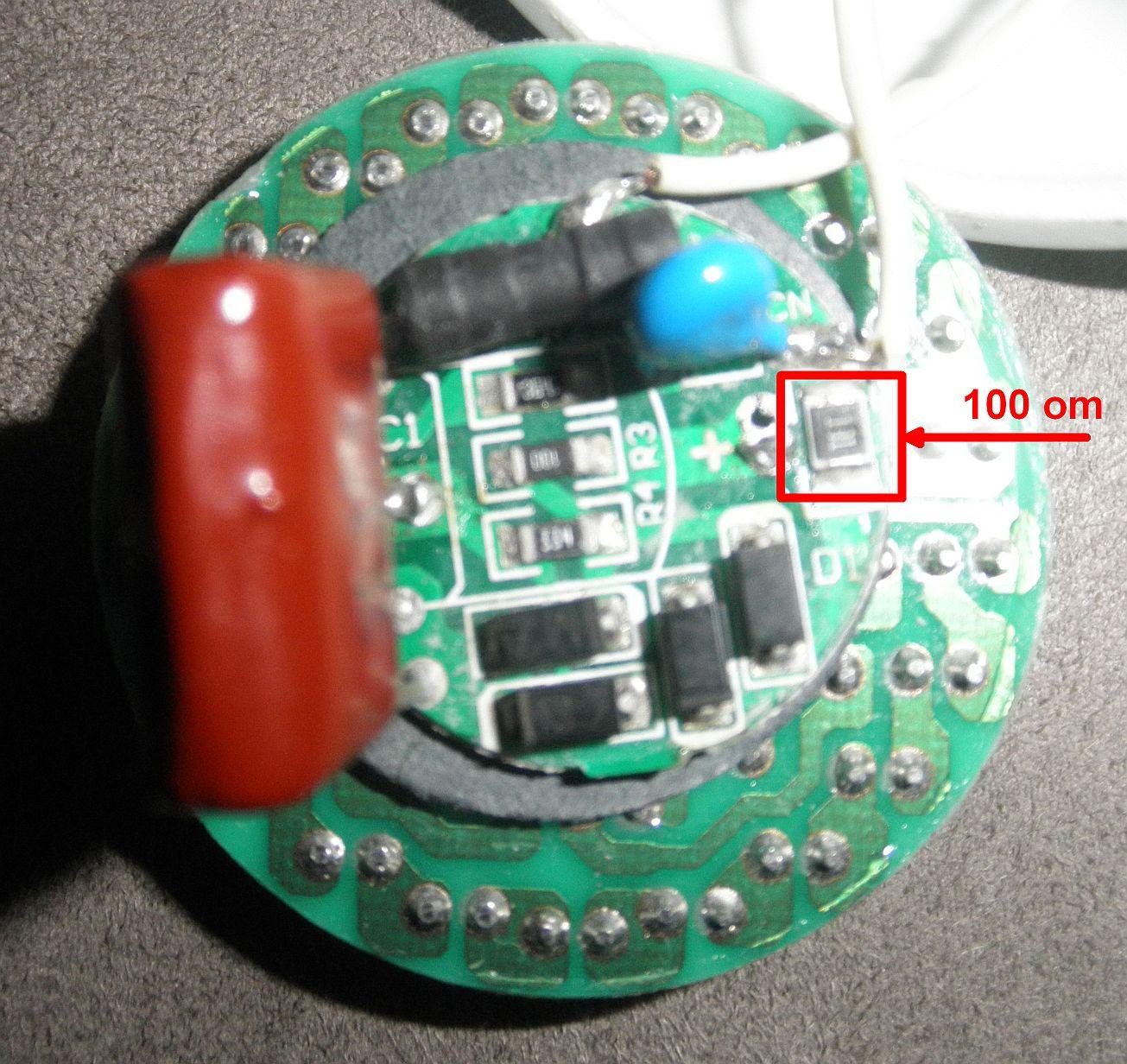 Polux LED GU10 48WW 230V 2,4W 3000K - naprawa