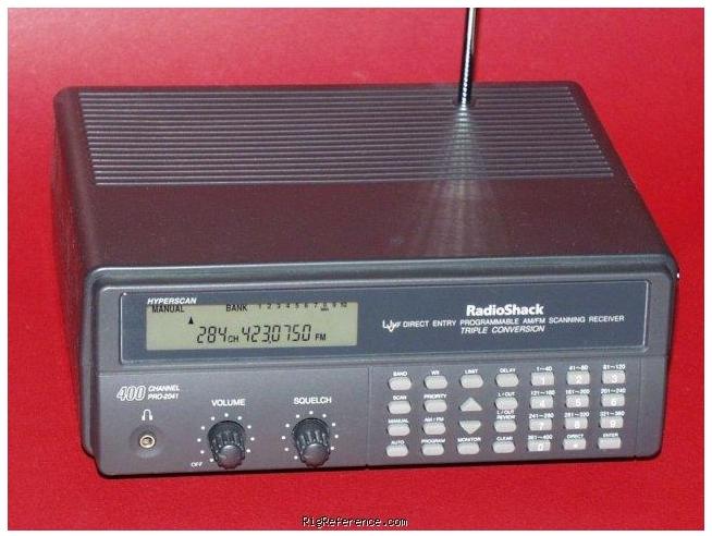 Radio Shack Pro 2038 Scanner Instruction Manual Free border=