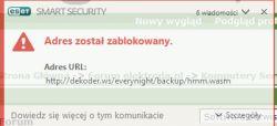 Usunięcie CoinMiner.js oraz innych malware