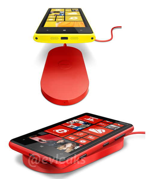 Nokia Lumia 920 i 820 pojawi� si� na rynku wraz z bezprzewodow� �adowark�?