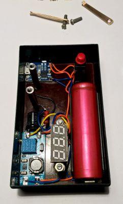 Zener voltage measuring instrument.