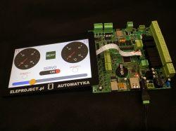 Uniwersalny moduł sterowania zgodny z Adruino Mega2560. Także programowalny w C.