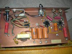 Fender 5C1 kopia - dziwny przebieg na anodzie 6SJ7
