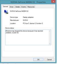 HP - Karta graficzna, paski na ekranie