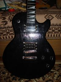Gitara elektryczna - własna konstrukcja