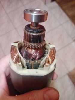Bosch PKS 40 pilarka - problem z wirnikiem