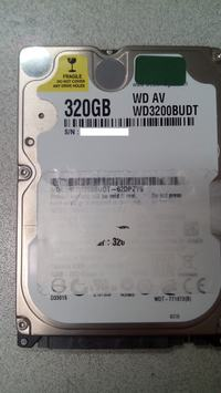 Potrzebny firmware do dysku WD3200BUDT-62DPZY0