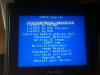 Mio Moov 200 (N177) - Odpala w trybie po��czenia USB