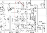 Radiotelefon Vertex VX-180 szumi