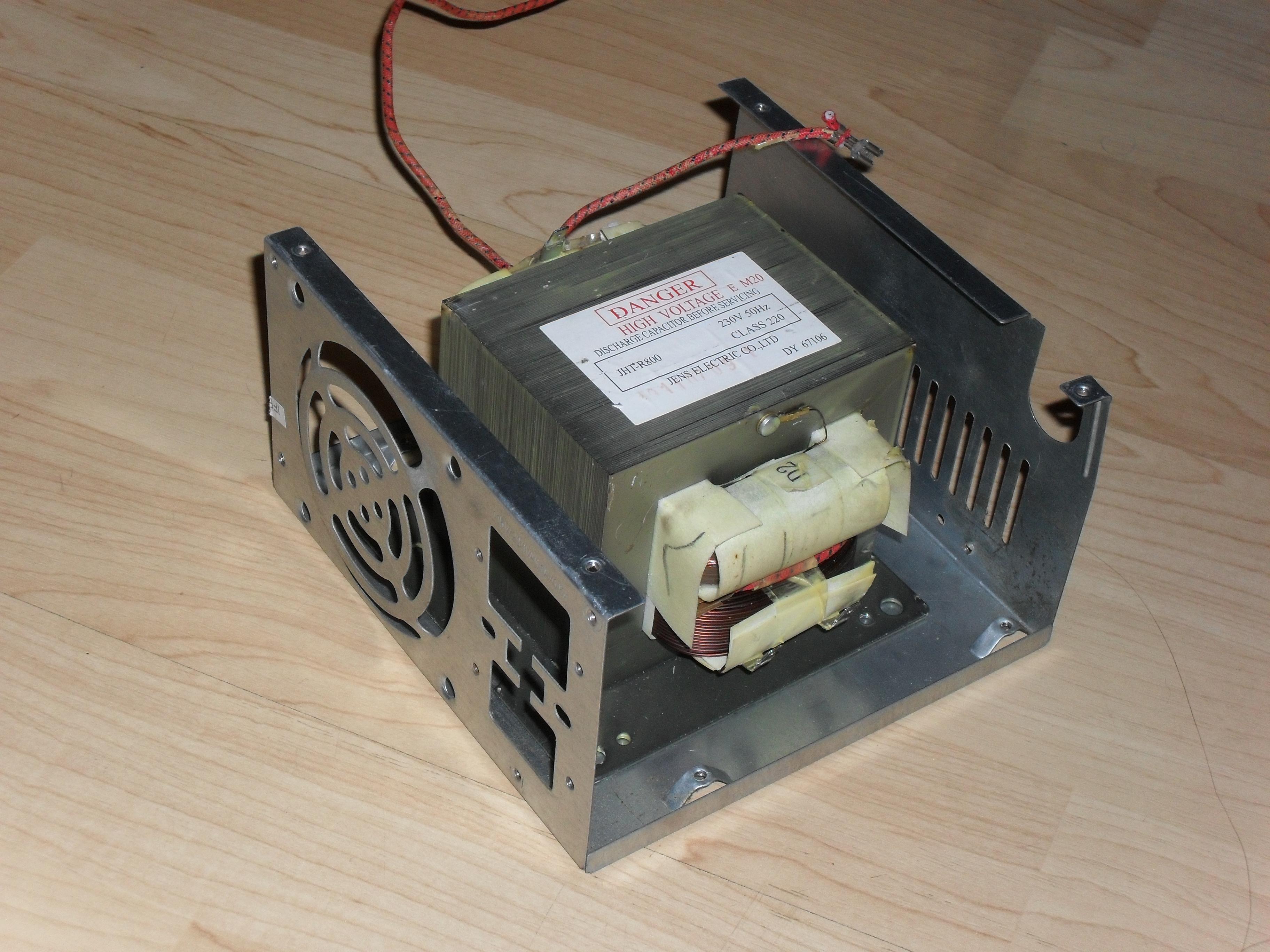 [Sprzedam] Transformator od mikrofal�wki