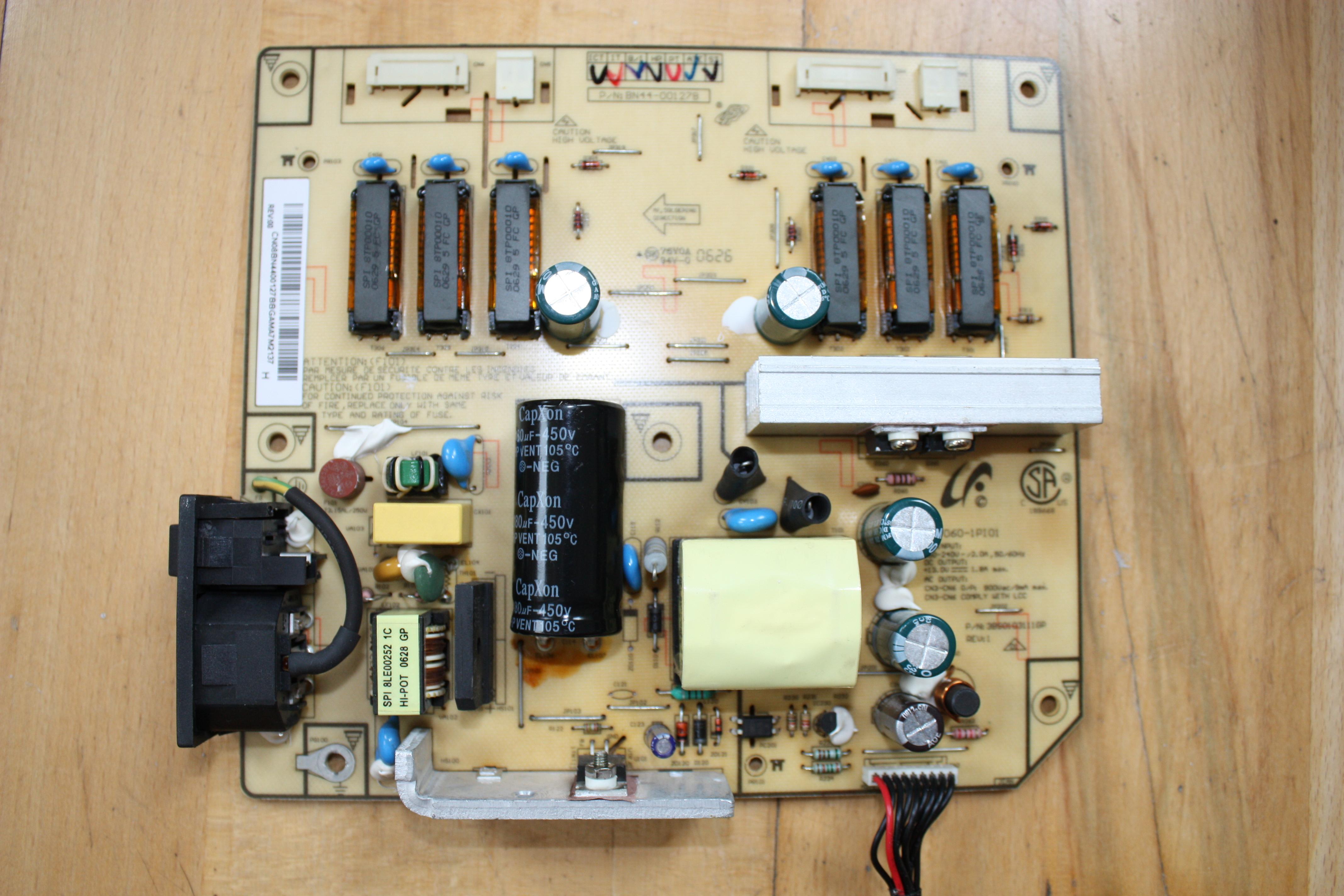 Samsung 215TW - brak pod�wietlenia