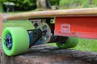 Elektryczny longboard sterowany przez Androida
