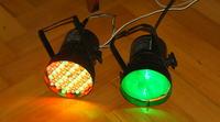 """Reflektor PAR36 LED """"69"""" Moje wykonanie"""