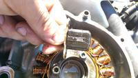 Husqvarna SM 610 - Pompa wtryskowa działa, lecz nie podaje paliwa
