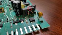 Candy CDI 5012 E10 - moduł 41030215 uszkodzony element
