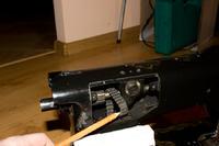 Łucznik kl. 86 - Stara maszyna do szycia wymiana paska zębatego.