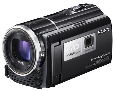 Sony Handycam HDR-PJ260V - kolejna kamera HD z wbudowanym projektorem