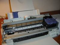 Epson Stylus Color 760 - pali sie dioda ziel i czerw
