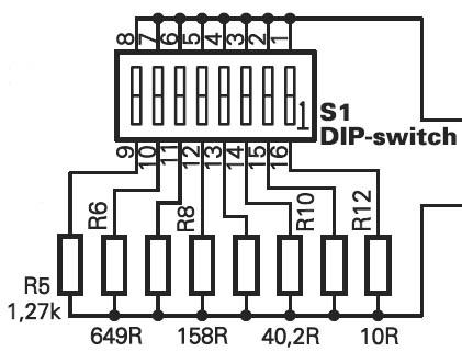 AVT2703 - wzmacniacz mikrofonowy