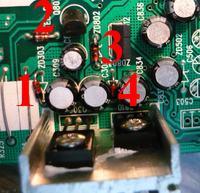 Medion MD 7328 uszkodzony BD435 i dioda zenera
