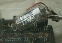 Zegar Nixie w butelce - moja wersja