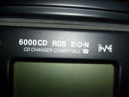 Radio Ford 6000 cd dwie wtyczki antenowe