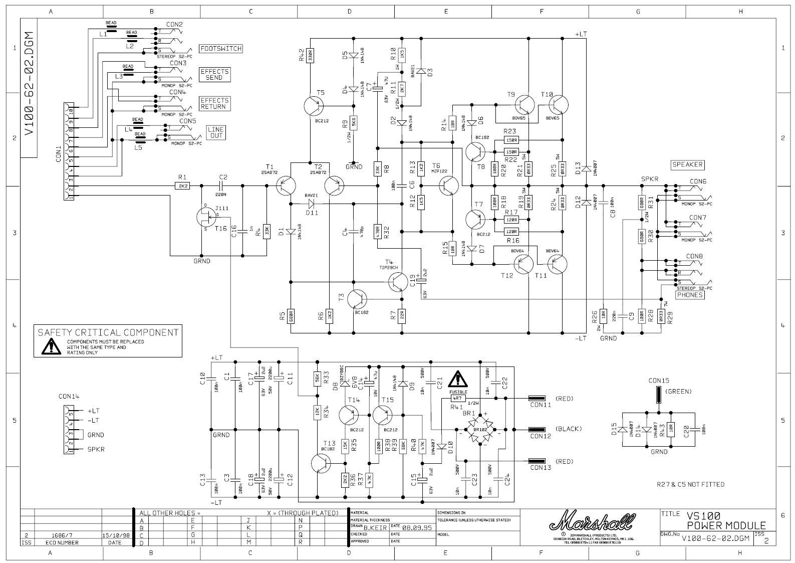 Marshall 8080 Wiring Diagram