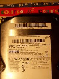 SAMSUNG SP1654N- uszkodzona elektronika