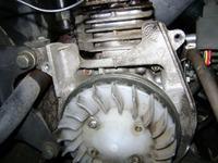 Skuter Bajaj Spirit, moduł zapłonowy - naprawa.