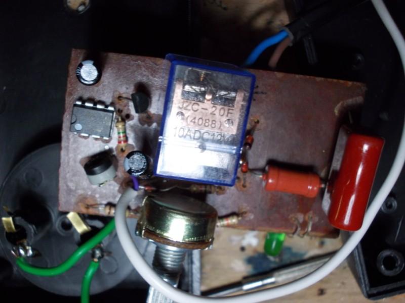 Regulator elektroniczny RT2 - Syczenie, nie startuje grza�ka.