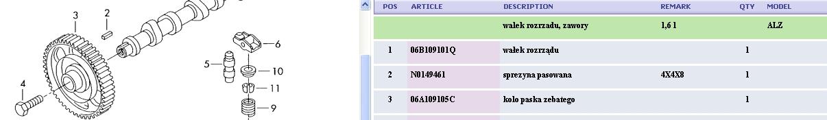 Passat 2001r 1.6 ALZ - Synchronizacja rozrz�du i b��d 16725
