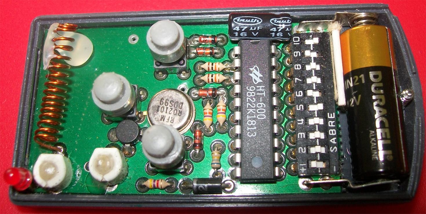 Dodatkowy pilot 26.995 MHz