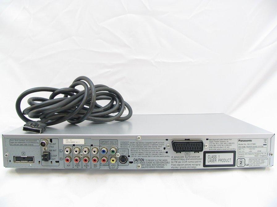 Panasonic SA-HT885 - Pod��czenie Kina domowego pod PC