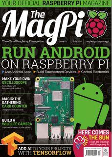 The MagPi - magazyn o Raspberry Pi - wydanie 71, lipiec 2018