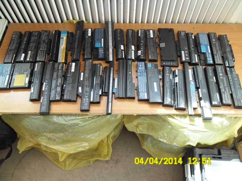 [Sprzedam] MIX Baterie Laptop U�ywane Nie Sprawdzane 68 SZTUK