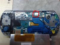 PSP 3003 / 300X Gubi obraz na LCD i wy��cza si�.