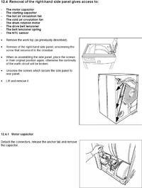 Suszarka elektrolux edc 67550 - nie kręci bębnem