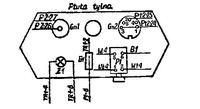 Kamera Unitra TP-K16 - Jak podłączyć do AV odbiornika TV