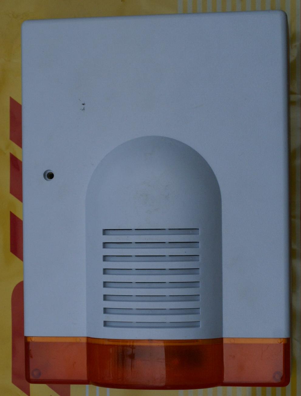 Sygnalizator zewn�trzny,marka i typ nn
