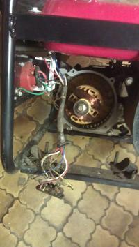 MR/GGT 3003 - uszkodzony/niekompletny generator prądu