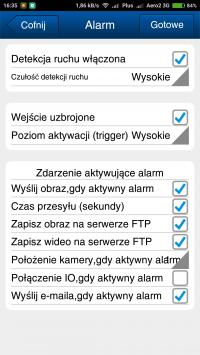 Overmax Camspot 4.3 - zła jakość zdjęcia z alarmu