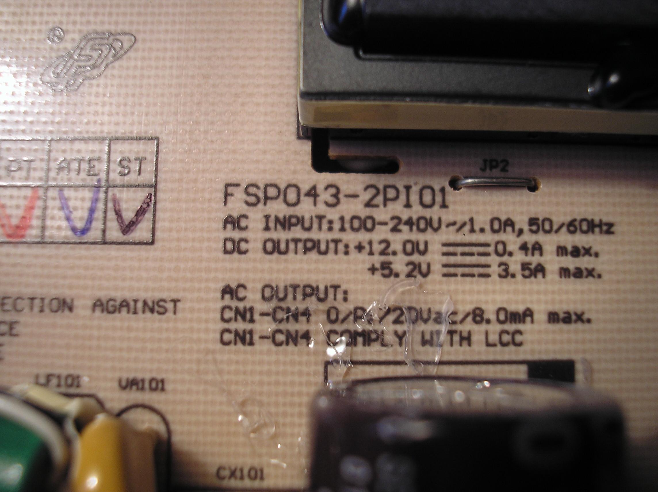 Fujitsu Siemens Scaleoview C17-11 L7ZA-A1 nadal brak obrazu