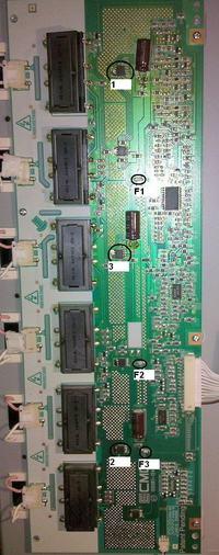 LCD Samsung LE26R32B - brak podświetlania