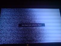 SAMSUNG UE46B600VP - z�y obraz na cz�sci ekranu