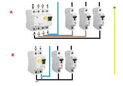 Wyłączniki różnicowo prądowe - uszkodzony PE ?