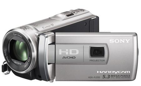 Sony Handycam HDR-PJ200 - model wyj�ciowy kamery z projektorem