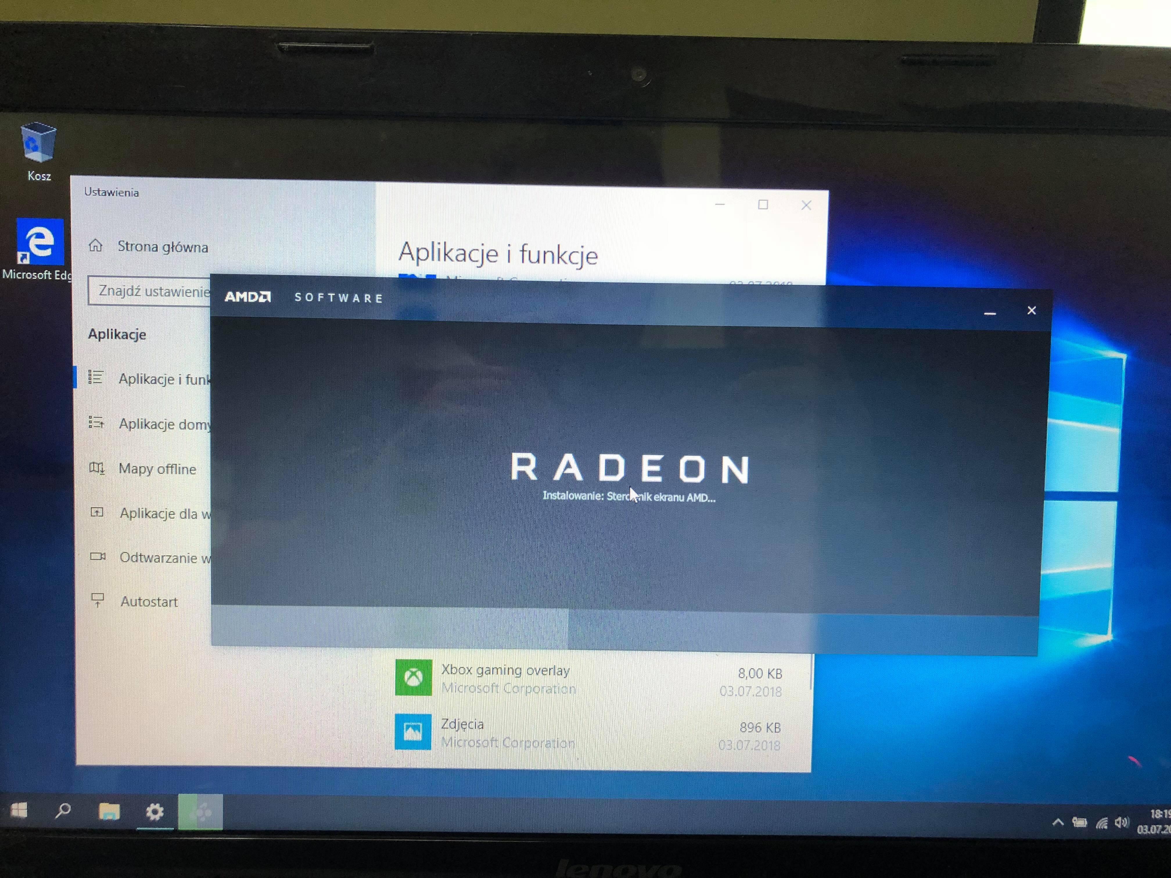 Lenovo G510 Problem Ze Sterownikami Od Grafiki Ati Radeon R7 M265