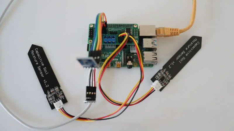 ANAVI Gardening uHAT - moduł dla Raspberry Pi dedykowany do ogrodnictwa